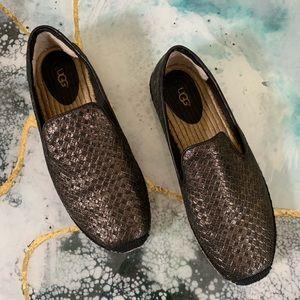 Ugg sandrinne metallic espadrilles